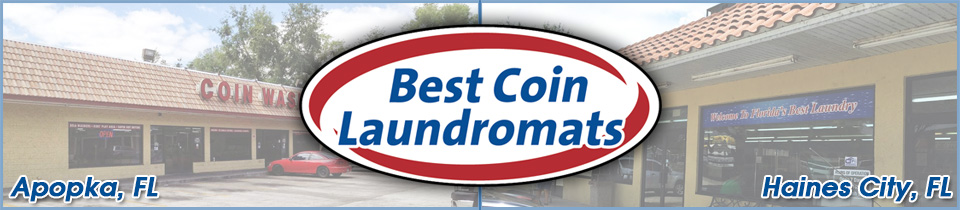 Best Coin Laundromats of Florida Logo and Locations